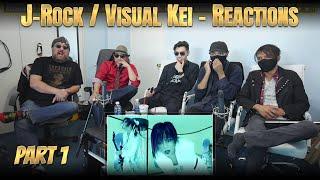 J-Rock Visual Kei Reaction Pt.1 | Psycho le Cému, Phantasmagoria, LAREINE, Dir en grey