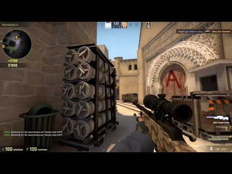 Counter-Strike: Global Offensive: Playing vs hackers