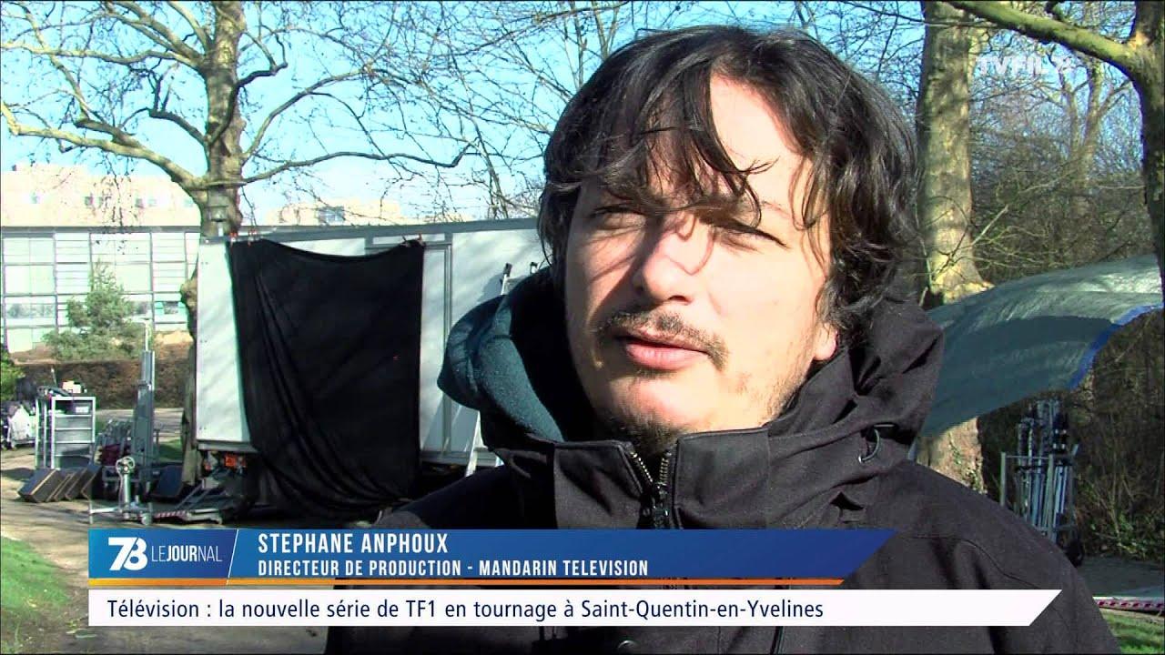 Télévision : la nouvelle série de TF1 en tournage à Saint-Quentin-en-Yvelines