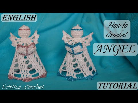 How To Crochet ANGEL / Tutorial / ENGLISH