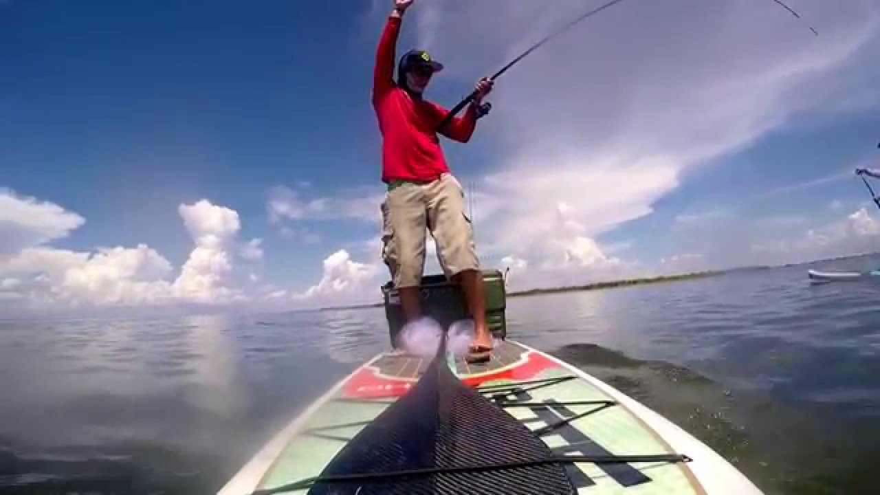 Sup fishing gopro youtube for Best gopro for fishing