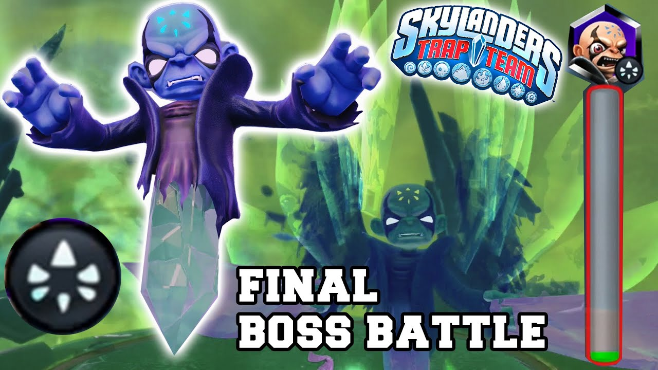 Skylanders Trap Team: Final Kaos Boss Battle! The Ultimate ...