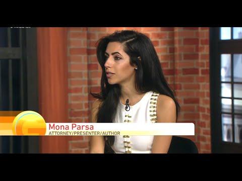 "CBS/CW ""Good Day Sacramento"": Mona Parsa on who keeps the engagement ring (Feb 21, 2016)"