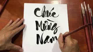 Bí quyết Tự học nhanh Thư pháp để tự tay viết chữ tặng bạn bè