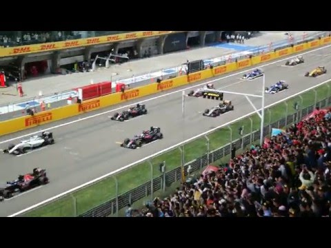 Shanghai Grand Prix Start