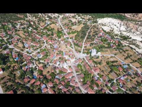 Eskiköy-Çamlıbel-Acıpayam/Denizli Drone Videosu