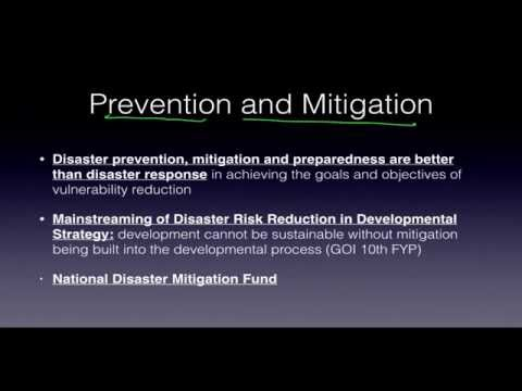 Disaster Management 1.4 UPSC IAS Preparation Roman Saini