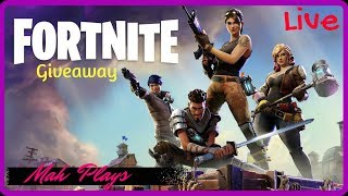 Fortnite | Live | PS4 | Fortnite copy giveaway, Japan psn card giveaway *No commentary*