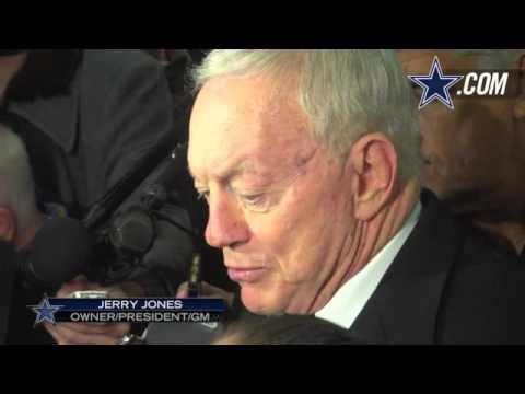 Jerry jones  interview on Tony Romo