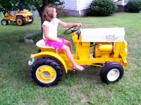 Cub Cadet garden tractors YouTube