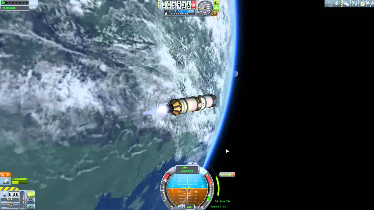 ksp how to build a satellite