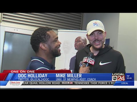 Sports Director Doc Holliday Goes One On One With NBA Champ And U Of M Assistant Coach Mike Miller