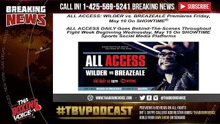 ☎️Deontay Wilder vs Dominic Breazeale All Access🤩Showtime🎥Countdown🗓
