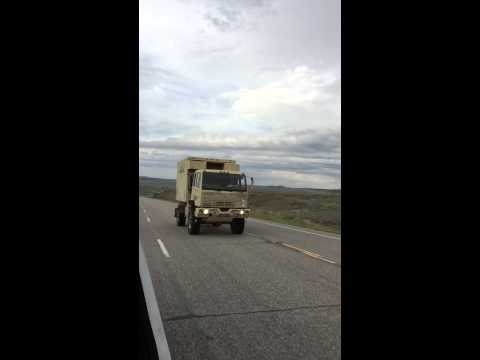 M1079 on the highway