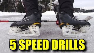 5 Hockey Drills for Acceleration