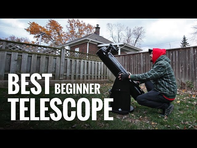The Best Telescope for BEGINNERS (Visual Astronomy)