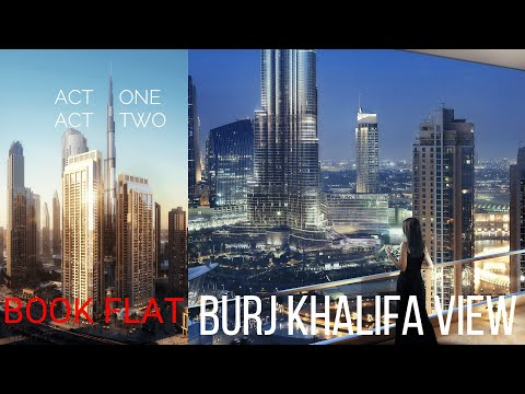 #Dubai#DownTown#DubaiMall#Emaar#Expo2020, Book your Flat in Act 1 Act 2 Tower with Burj Khalifa View