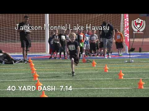 AZ Youth Football Combine 2019 Top-10 40 Yard Dash  5-7 Age Division