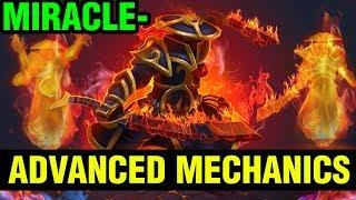 Advanced Mechanics - Miracle- Ember Spirit 7.15 Gameplay - Dota 2