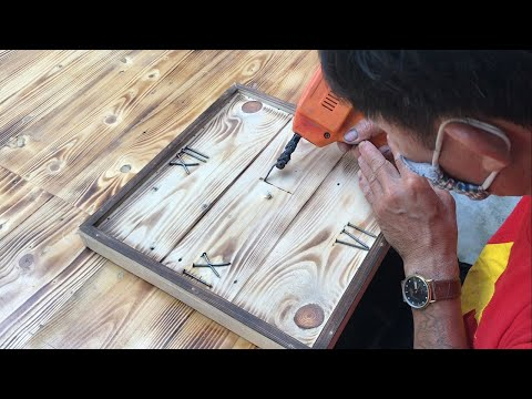 amazing-design-ideas-woodworking-project-cheap-//-build-a-wall-clock-simple-easy---how-to,-diy!