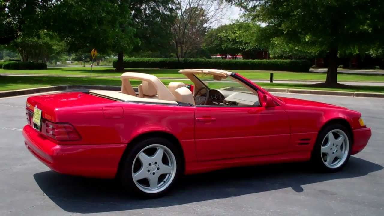 Dick Dyer Mercedes >> 2002 Mercedes-Benz SL500 walkaround from Bob Cullum with Dick Dyer Volvo / Mercedes-Benz - YouTube