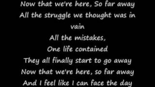 Staind - So Far Away (Lyrics)