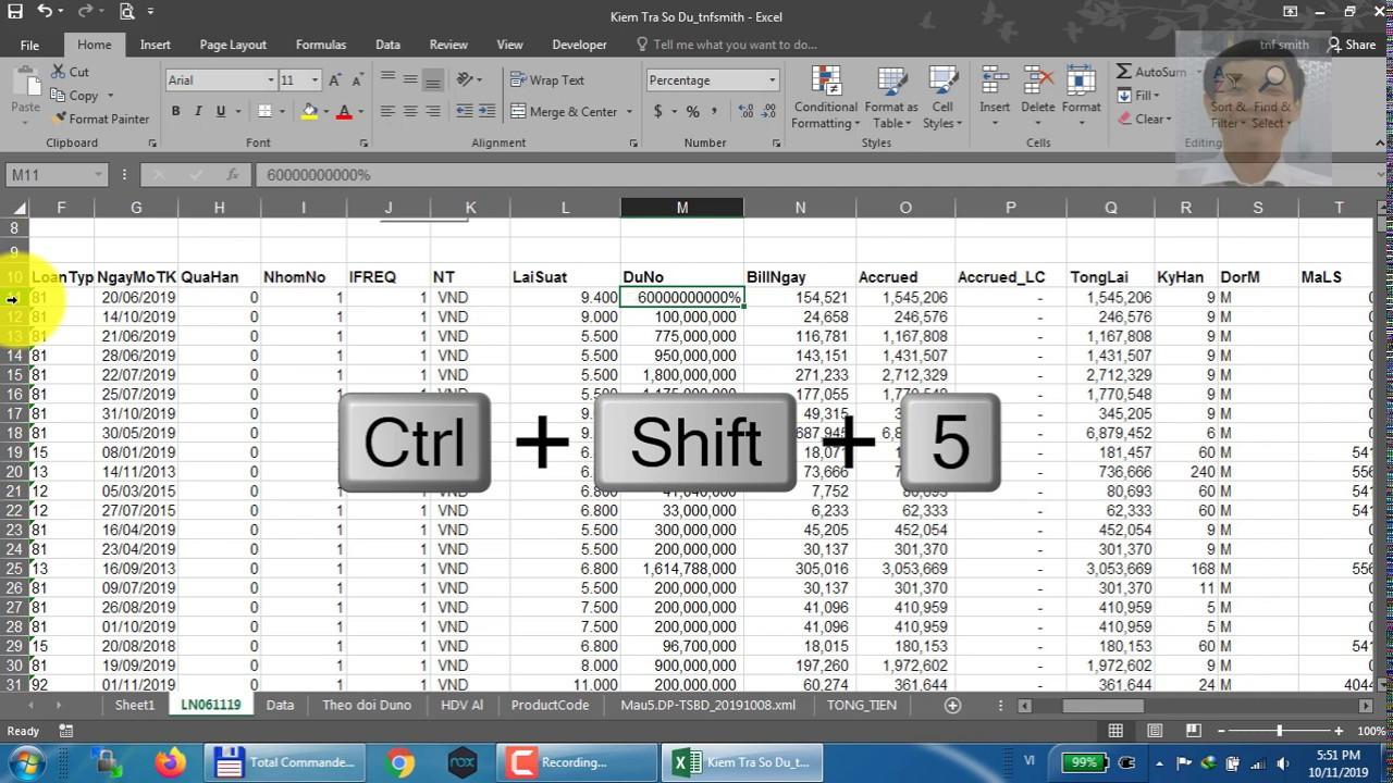 Phần 2 (cuối): Trùm phím tắt Excel