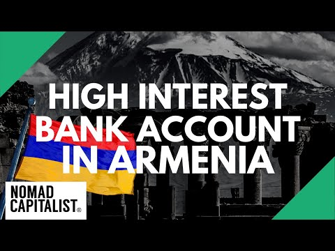 Opening A High Interest Bank Account In Armenia