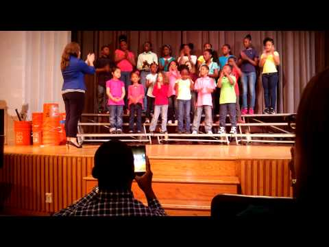 Philadelphia Montessori Charter School Choir.