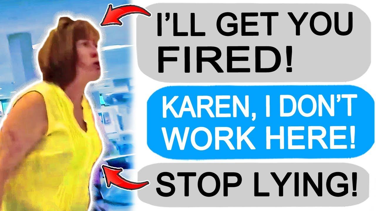 r/Entitledparents Karen Tries to Get me Fired, I Get Revenge!
