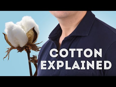 Cotton Explained - How To Spot Quality Cotton Fabrics, Shirt