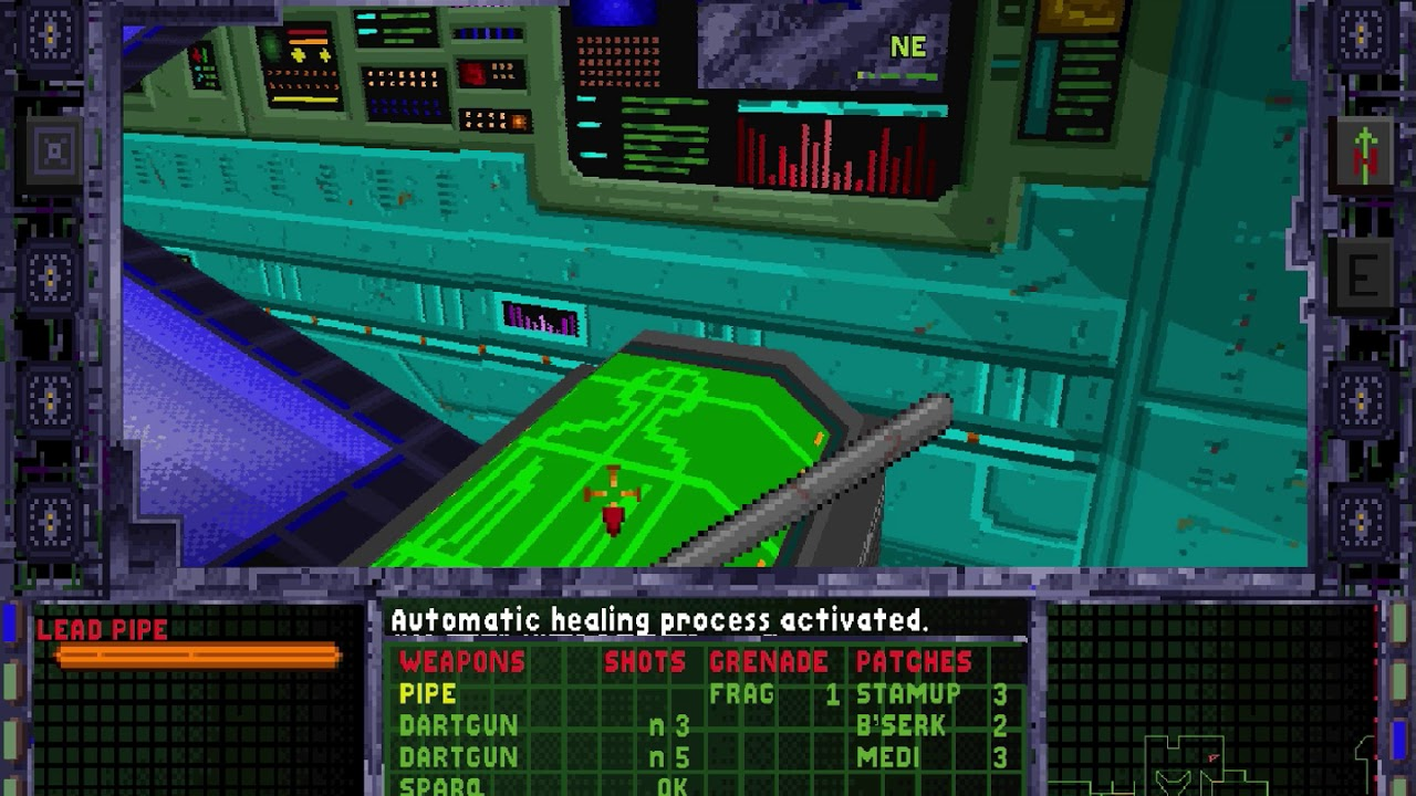 Let\'s Play System Shock pt2: Wire Puzzle - YouTube