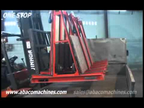 One Stop A Frame Abaco Transport Moving Container Stock