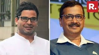 Big Prashant Kishor Roped In By Kejriwal For His Delhi Re-election Bid In 2020 Against Bjp