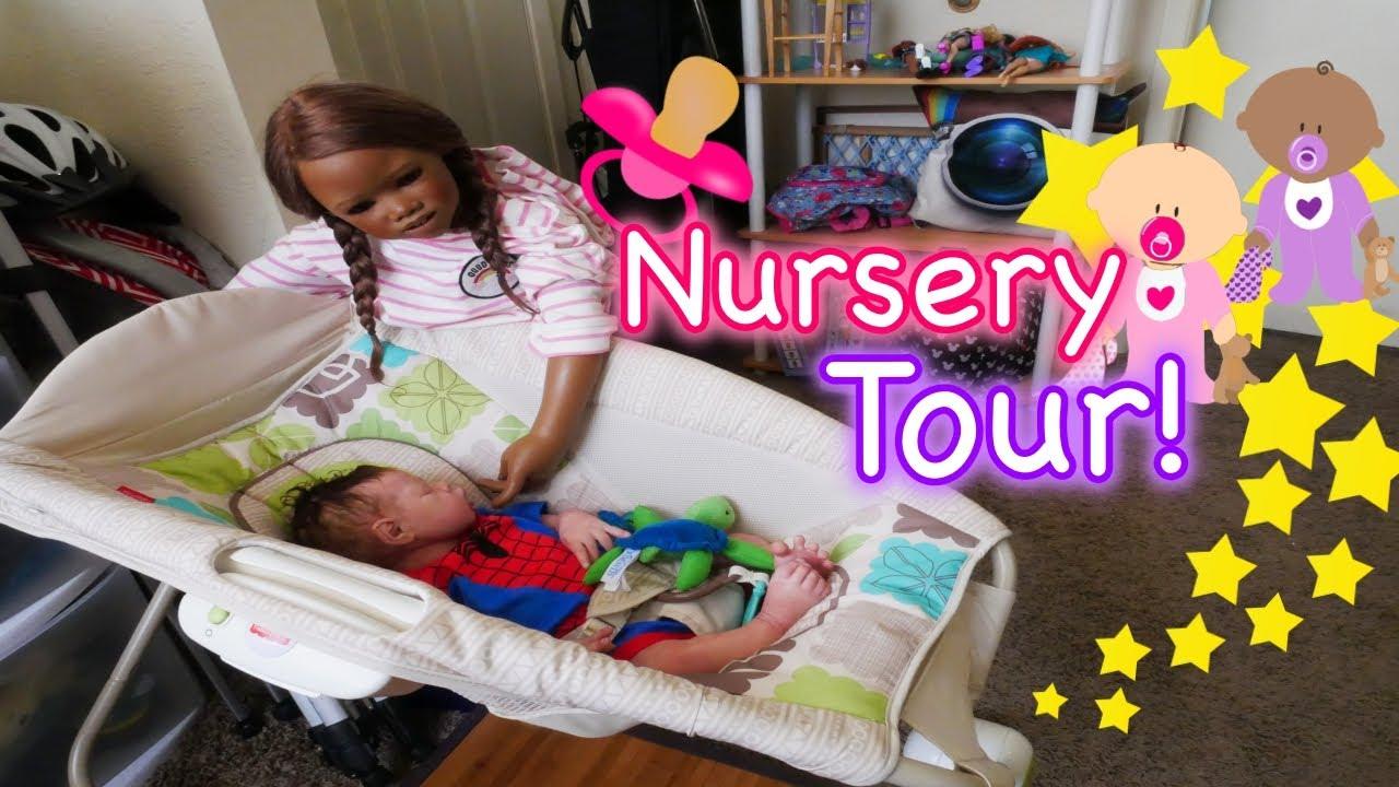 Silicone Reborn Baby Nursery Tour 2017 My Art Studio