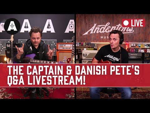 The Captain & Danish Pete's Q&A Livestream!