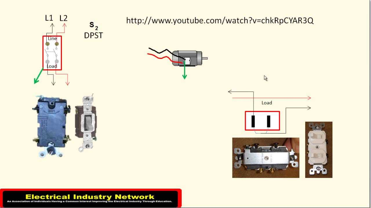 electrical wiring diagram light switch raspberry pi b 250 volt swimming pool disconnect youtube