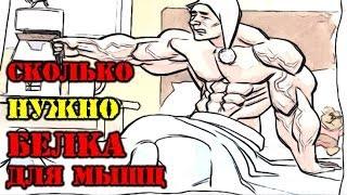 видео Сколько нужно белка для роста мышц