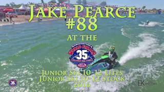 Jake Pearce at the 2016 IJSBA World Finals - ...