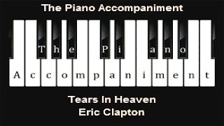 Eric Clapton - Tears In Heaven (Piano Karaoke)