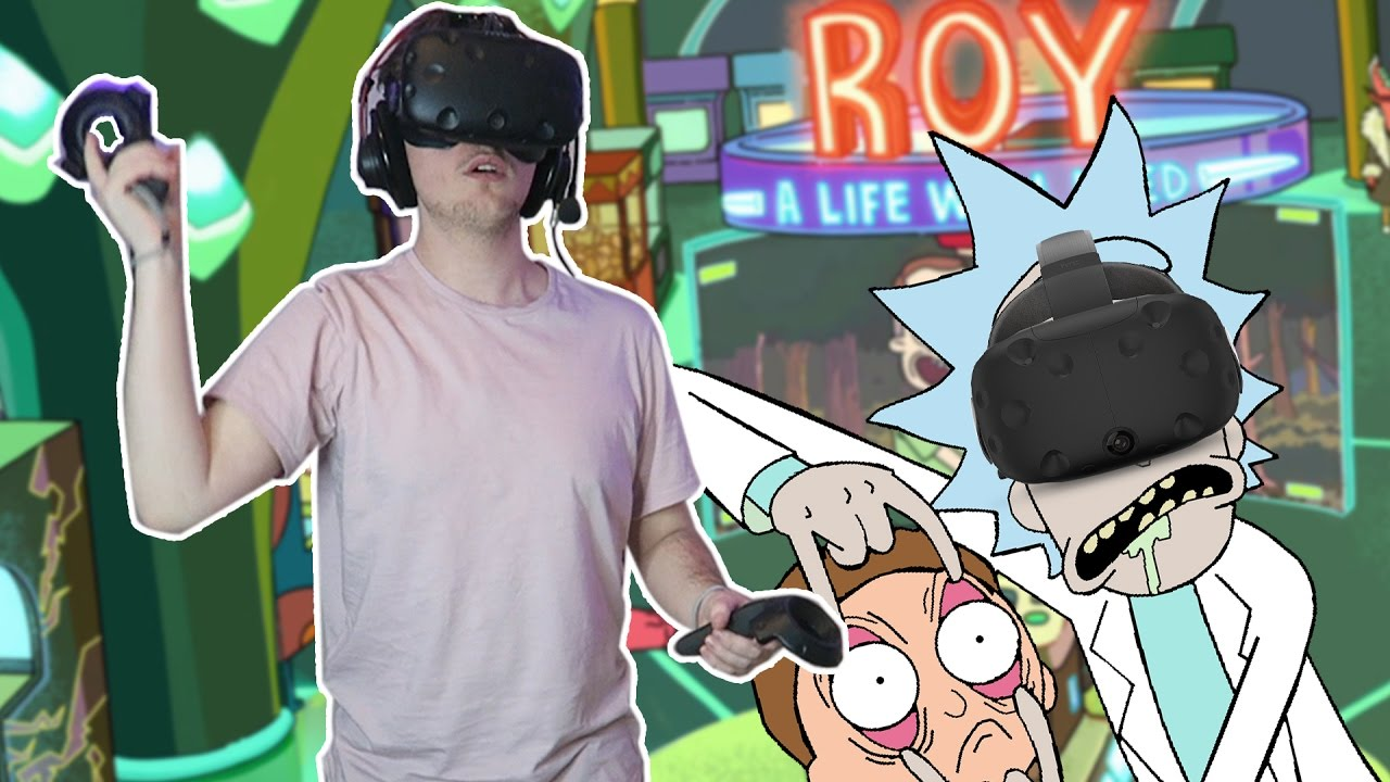 PLAYING ROY IN VR! | Rick and Morty: Virtual Rick-ality #2 (HTC Vive Gameplay)