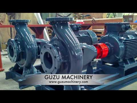 DIN24255 (EN733)Standard End Suction Pumps