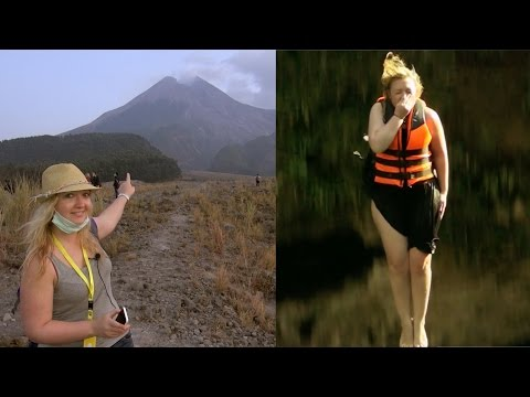 Anne explores Wonderful Indonesia - Yogjakarta Part 2 -Mount Merapi and Pindul Caves