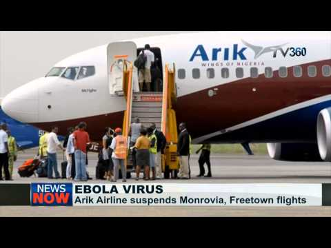Arik Air suspends flights to Liberia and Sierra Leone over Ebola Virus