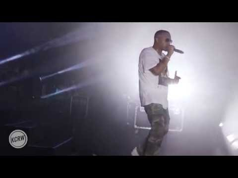 """Nas Performing """"One Mic"""" At Sound In Focus"""