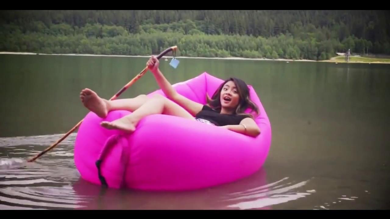 Ламзак Lamzac Lamzak надувной диван биван без насоса новинка - YouTube