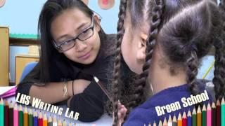 LHS Writing Lab at Breen School 2016