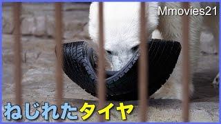 リラマジック!ねじれたタイヤが一瞬で元通り! Polar Bear Magic