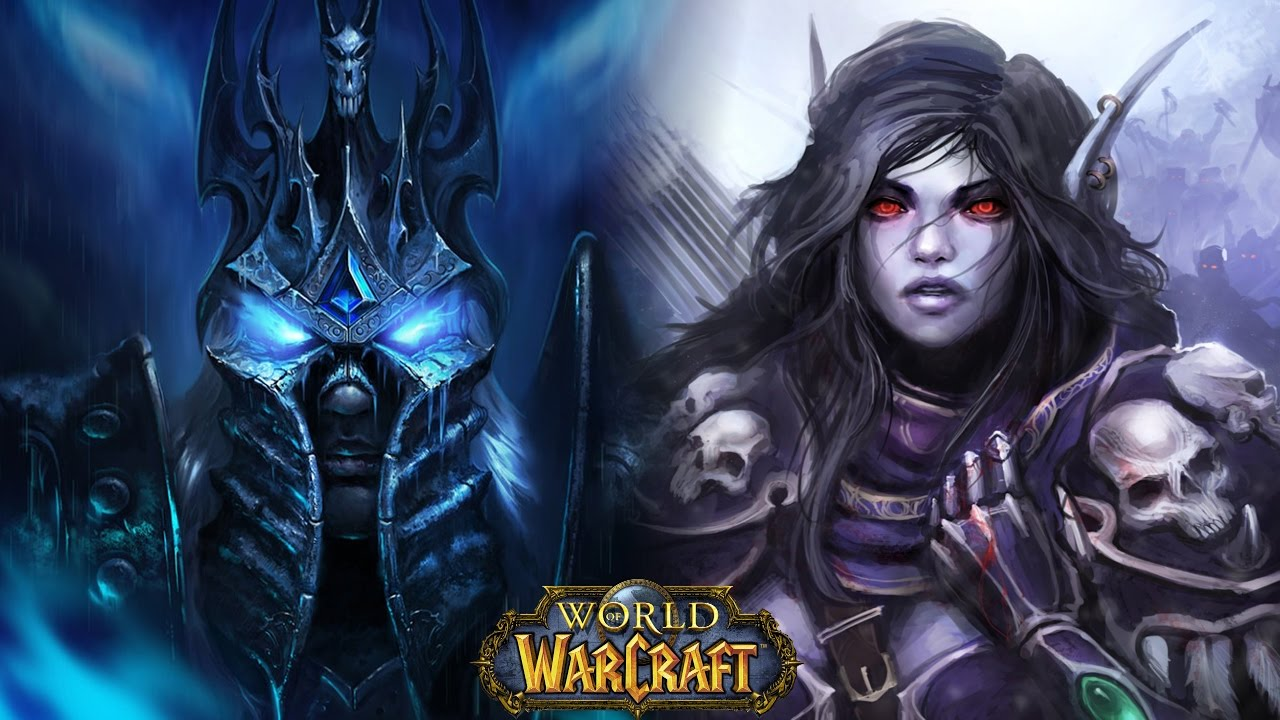 Fall Of The Lich King Wallpaper How Sylvanas Reacted To Arthas Death World Of Warcraft