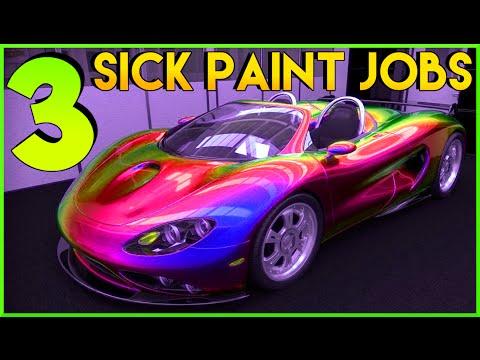 "GTA 5 ""PAINT JOBS"" Best rare paint jobs (GTA 5 PAINT GUIDE) GTA V ONLINE SECRET PAINT JOBS"